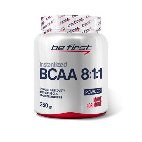 BCAA 8:1:1 Instantized powder 250 гр