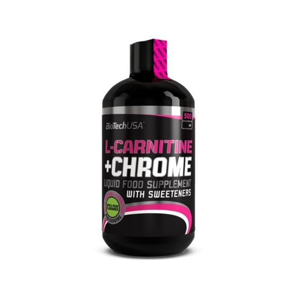 L-Carnitine+Chrome 500ml (BioTech)