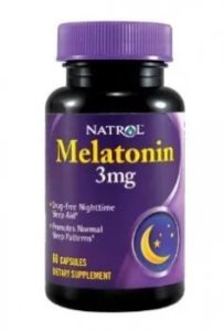 Melatonin 3 мг. 60 таб. (Natrol)