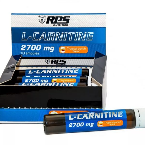 L-Carnitine 2700 мг. 10 амп. (RPS Nutrition)