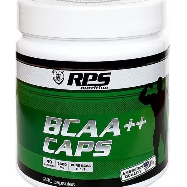 BCAA 2:1:1, 240 капс. (RPS Nutrition)