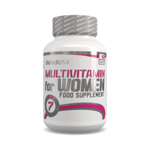 MULTIVITAMIN FOR WOMEN 60 таб. (BioTechUSA)