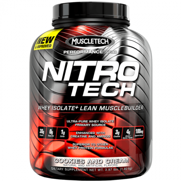 Nitro-Tech Performance Series 1800 гр. (Muscletech)