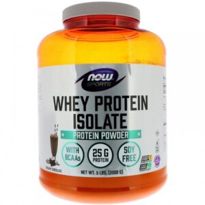 NOW Whey Protein Isolate (2268 г)