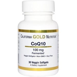 CoQ10 30 кап. (California Gold Nutrition)