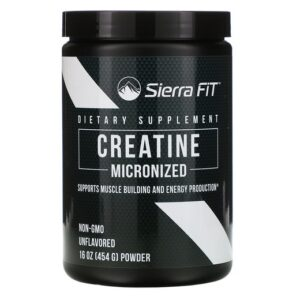 Sierra Fit, Micronized Creatine Powder, без ароматизаторов, 454 г