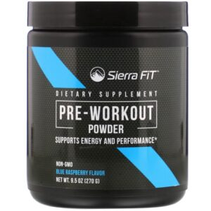 Sierra Fit Pre-Workout Powder 270 g