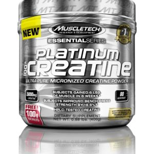 100% Platinum Creatine 400 гр. (Muscle Tech)