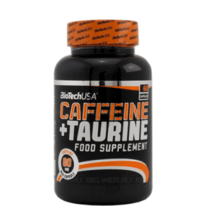 Power Force (сaffeine + taurine) 60 кап. (BioTech)