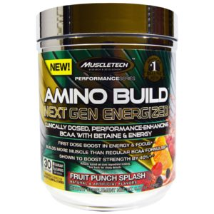 Amino Build Next Gen Energized 282 гр. (MuscleTech)