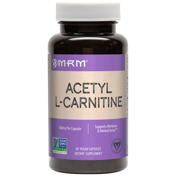Acetyl L-Carnitine 500mg 60 капс. (MRM)