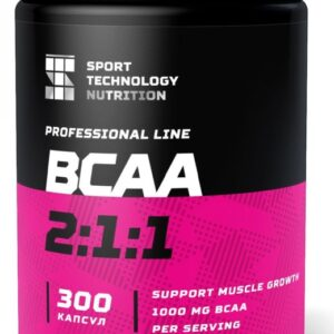BCAA Sport Technology Nutrition, в капсулах 300