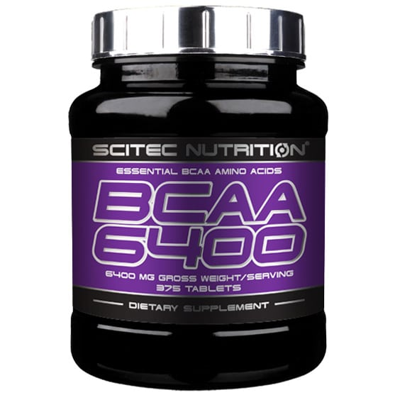 BCAA 6400 (Scitec Nutrition) 375 таб