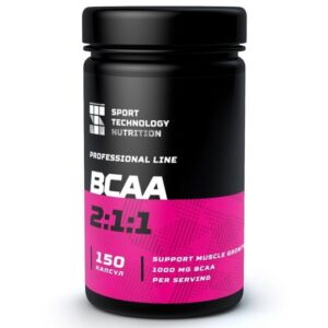 BCAA Sport Technology Nutrition, в капсулах, 150 шт