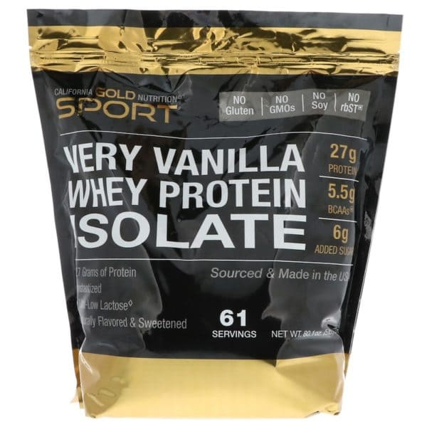 California Gold Nutrition Whey Isolate 2270 гр.