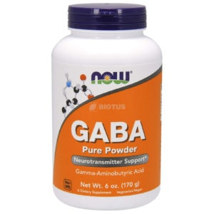 NOW GABA 100% Pure Powder (170 гр.)
