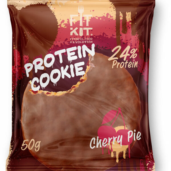 Fit Kit Chocolate Protein Cookie 50 г