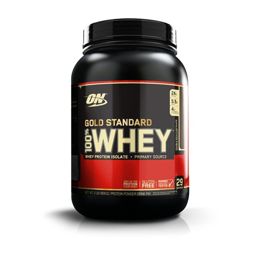 Optimum Nutrition 100% Whey Gold Standard 908 г.
